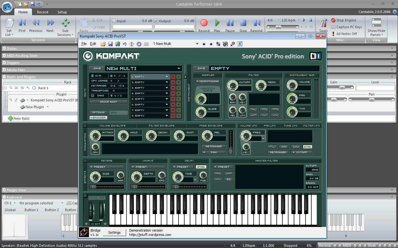 jbridge vst