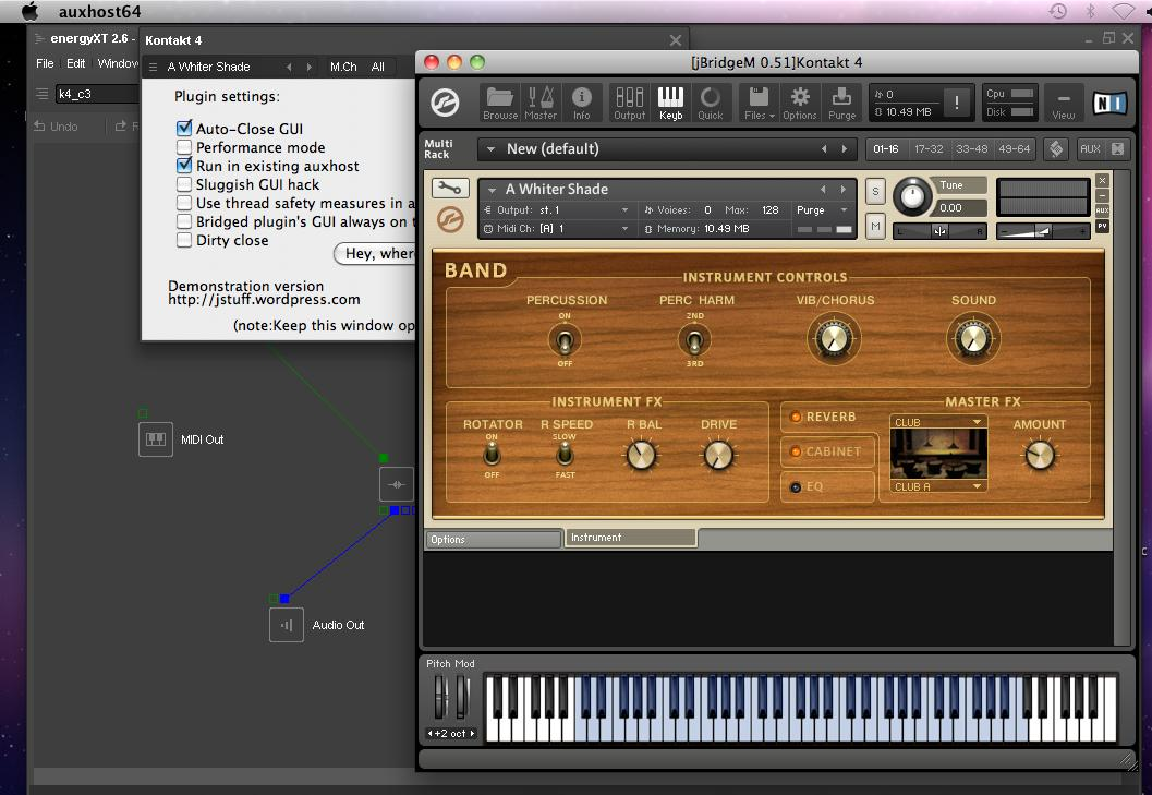 32- TO 64-BIT AUDIO UNITS AND VST PLUG-INS ADAPTER